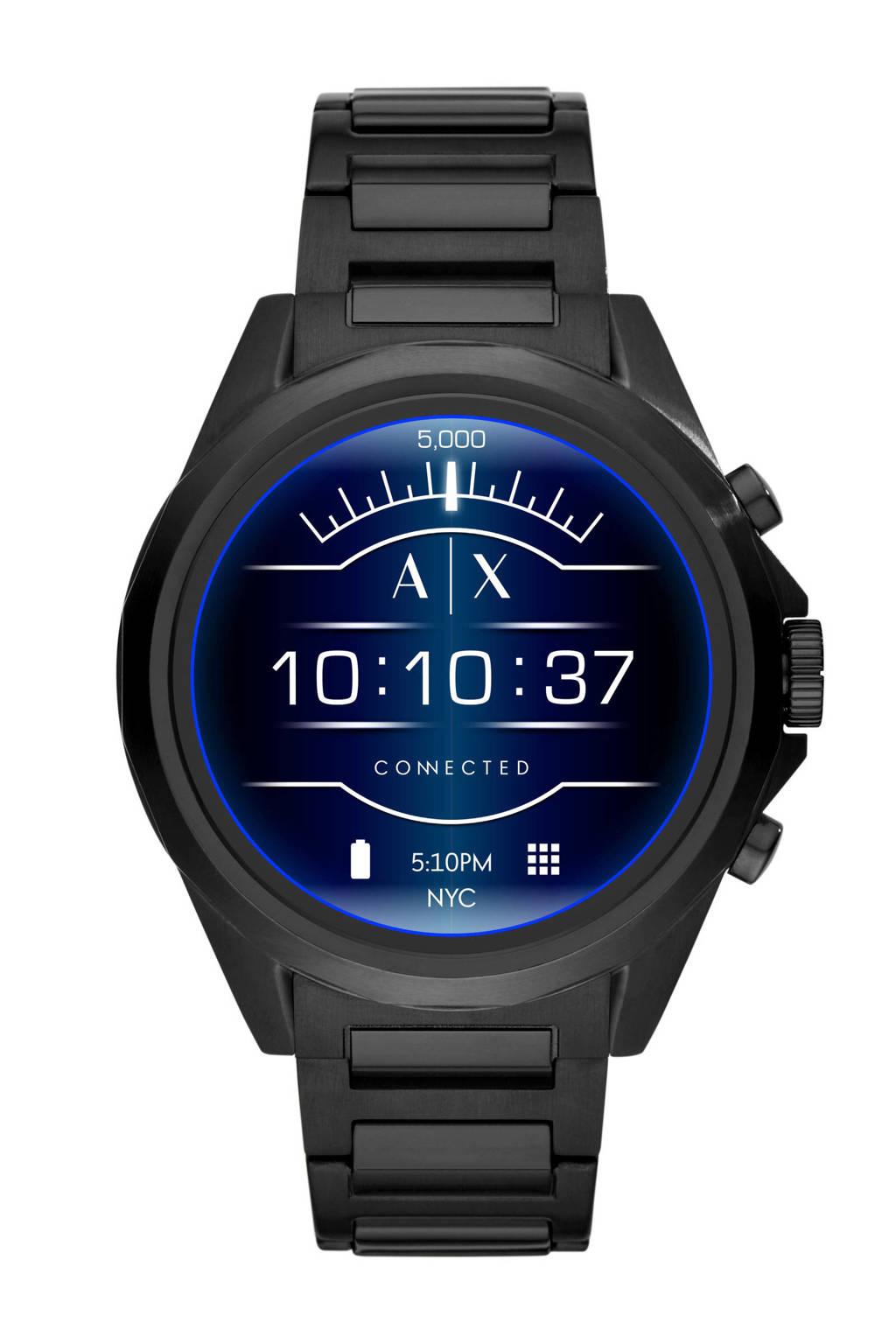 Armani Exchange Connected Drexler display smartwatch AXT2002, Zwart