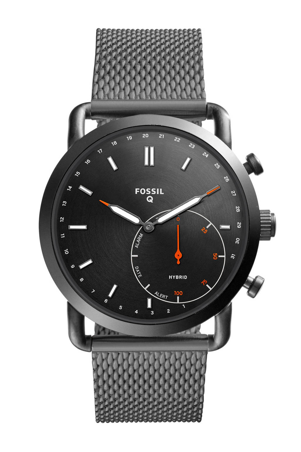 Fossil Q Commuter Gen 4 hybrid watch FTW1161, Grijs