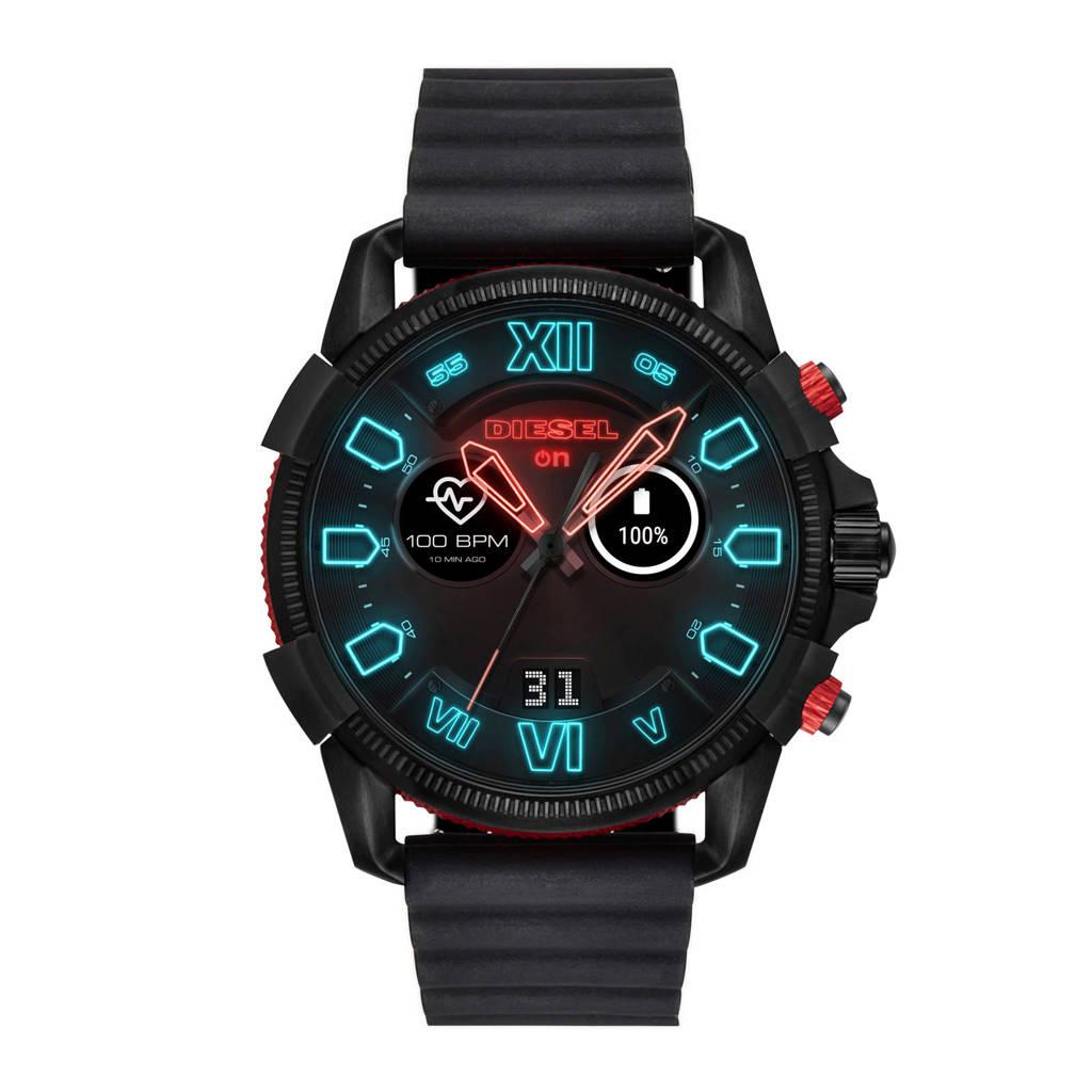 Diesel ON Gen 4 smartwatch DZT2010, Zwart / rood