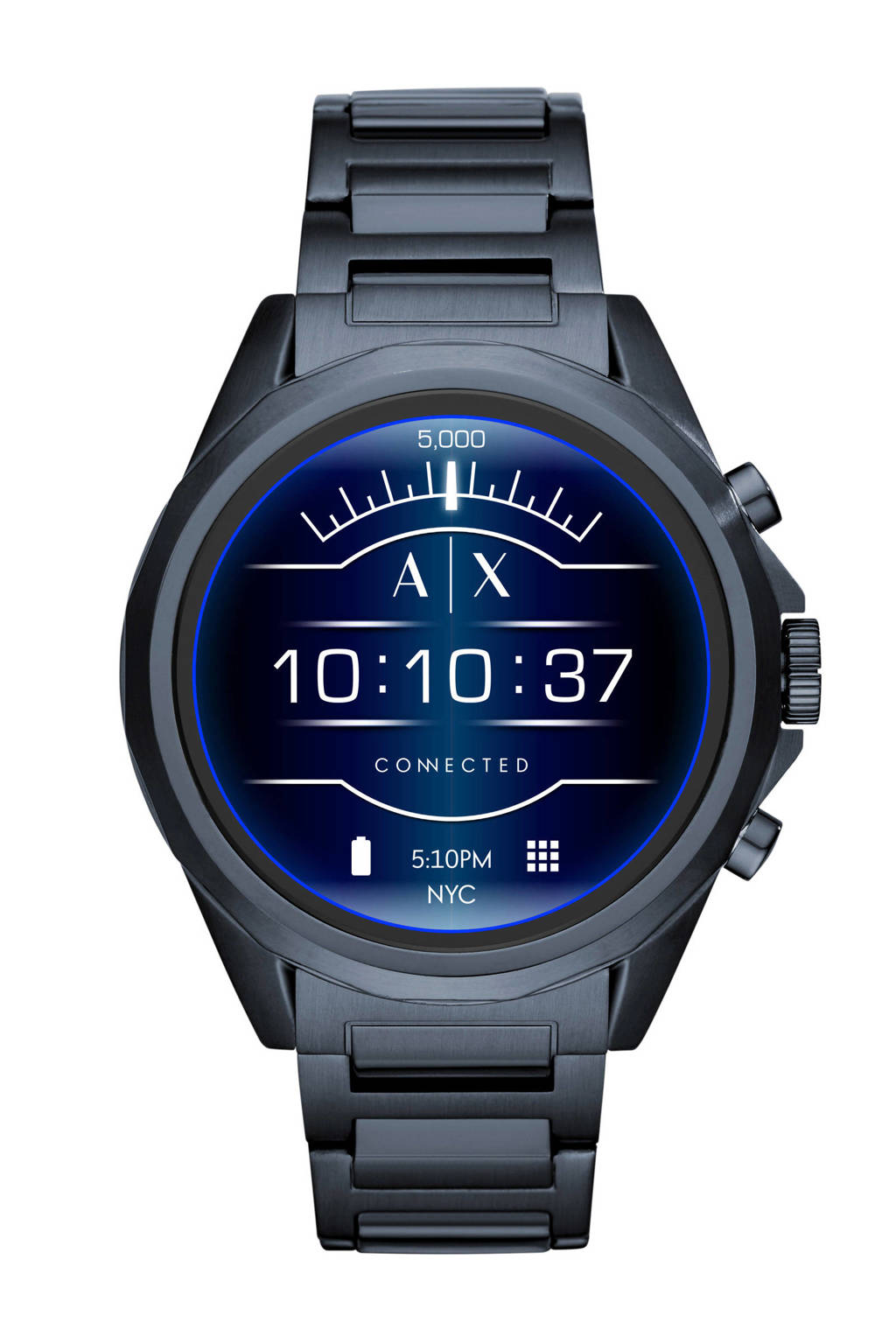 Armani Exchange Connected Drexler display smartwatch Gen 4 AXT2003, Blauw