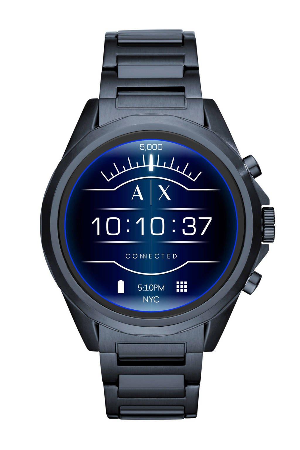 Armani Exchange Connected Drexler display smartwatch Gen 4 AXT2003, Blauw
