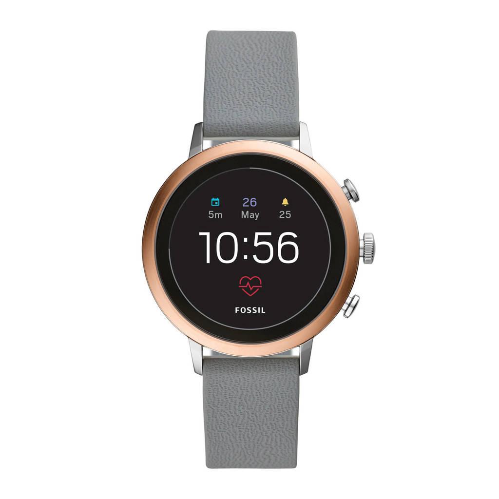 Fossil Q Venture Gen 4 smartwatch FTW6016, Rosé goud