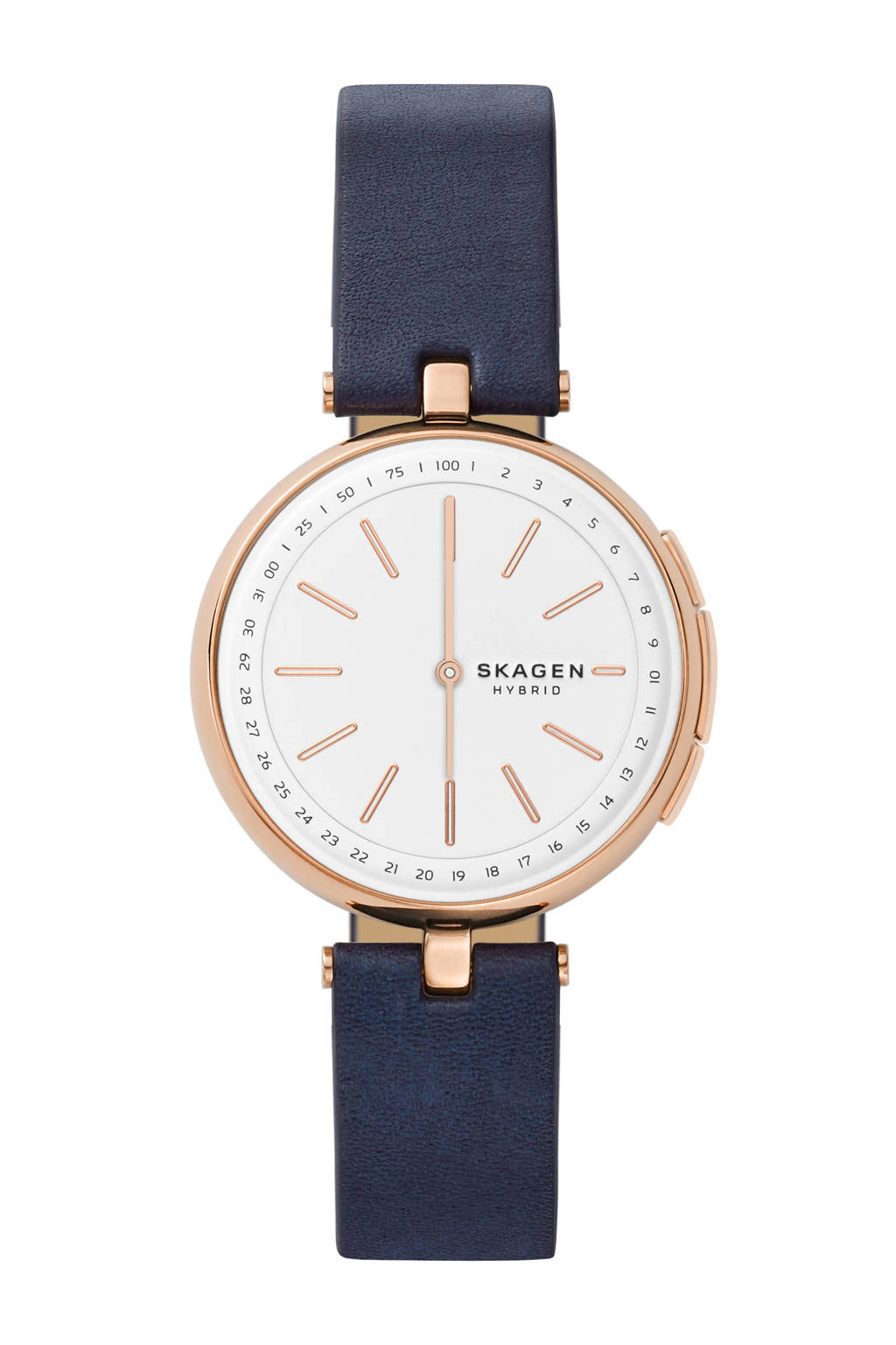 Skagen Connected Signatur hybrid watch - SKT1412, Rosé goud