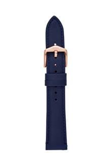 Q leren horlogeband S181363