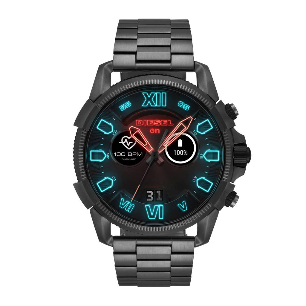 Diesel ON Gen 4 smartwatch DZT2011, Zwart / gunmetal
