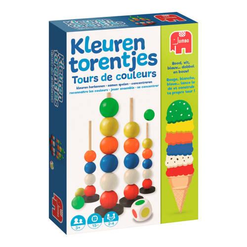 Jumbo kleuren torentjes kinderspel kopen