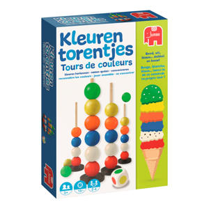 kleuren torentjes kinderspel