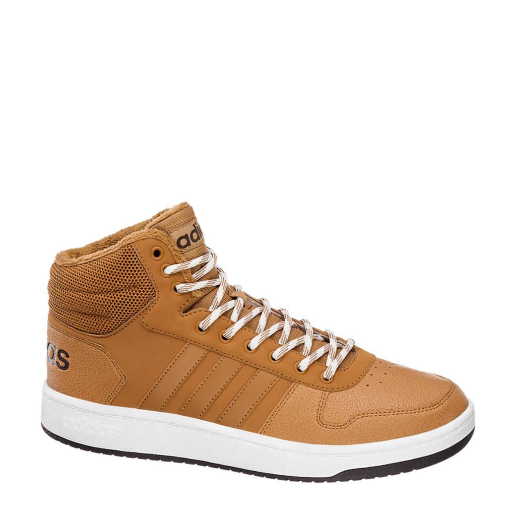 buy popular de6f3 1525f adidas Hoops 2.0 Mid sneakers camel, Beige