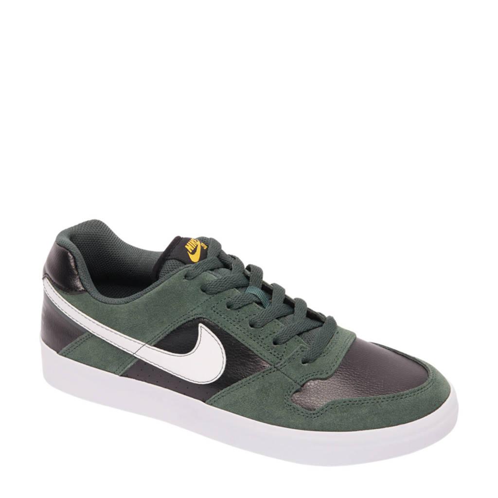 Nike  SB Delta Force Vulv sneakers, Donkergroen