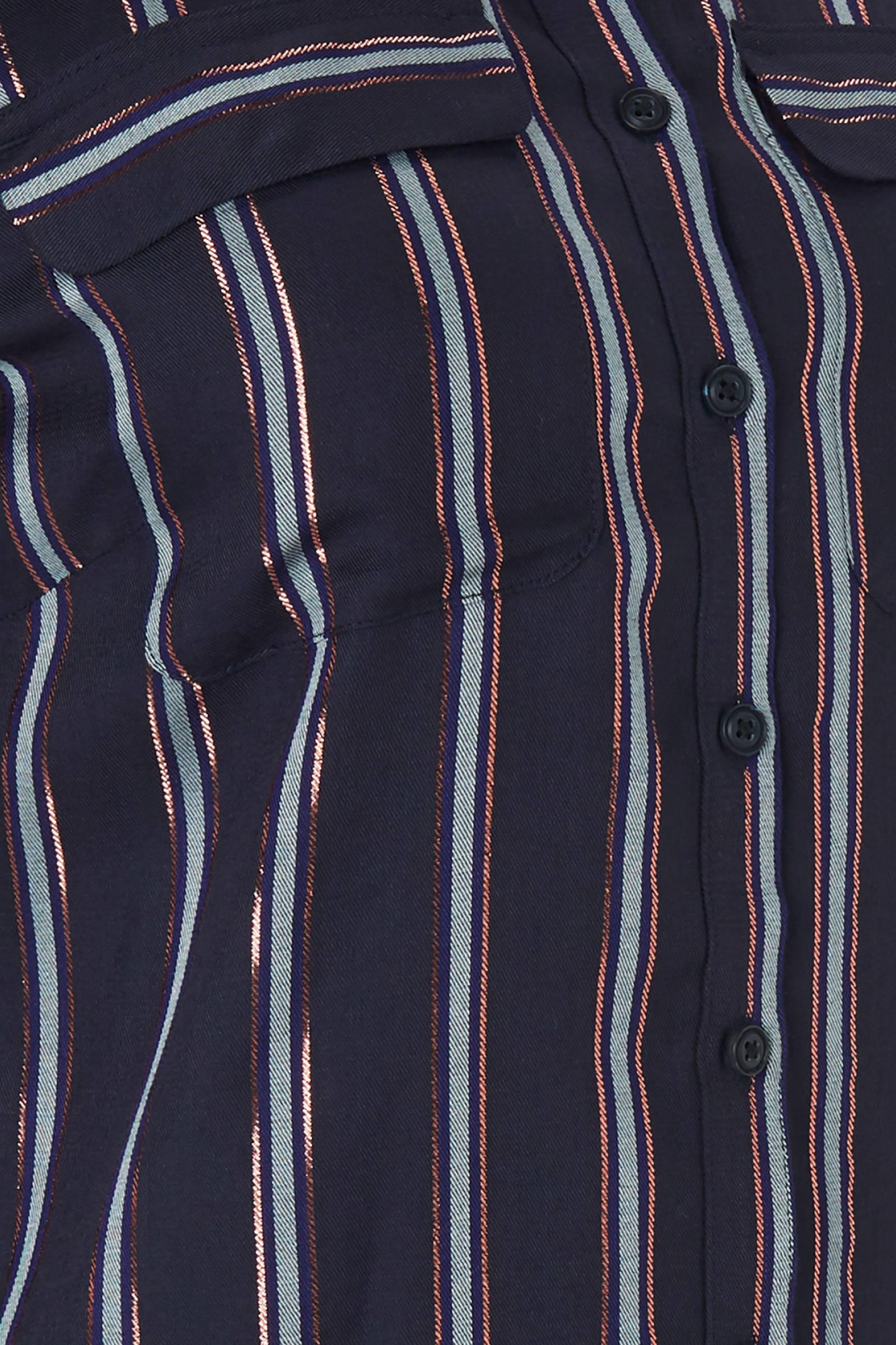 blouse blauw CKS gestreepte Maki blauw blouse gestreepte CKS Maki CKS gestreepte tdEqgxg