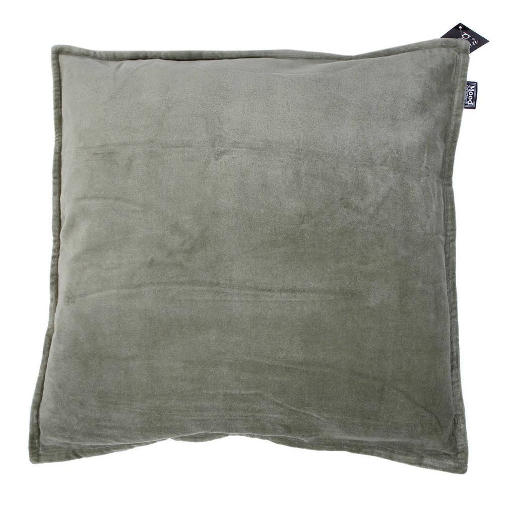 Mood collection kussenhoes Flap (50x50 cm), Klavergroen