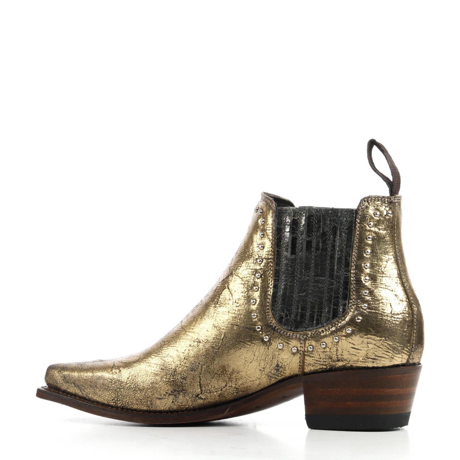 Goud Leren Sendra Chelsea Boots Sendra dCBxoe