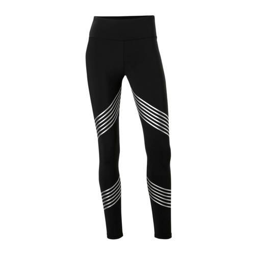 ESPRIT Women Sports sportbroek zwart-zilver