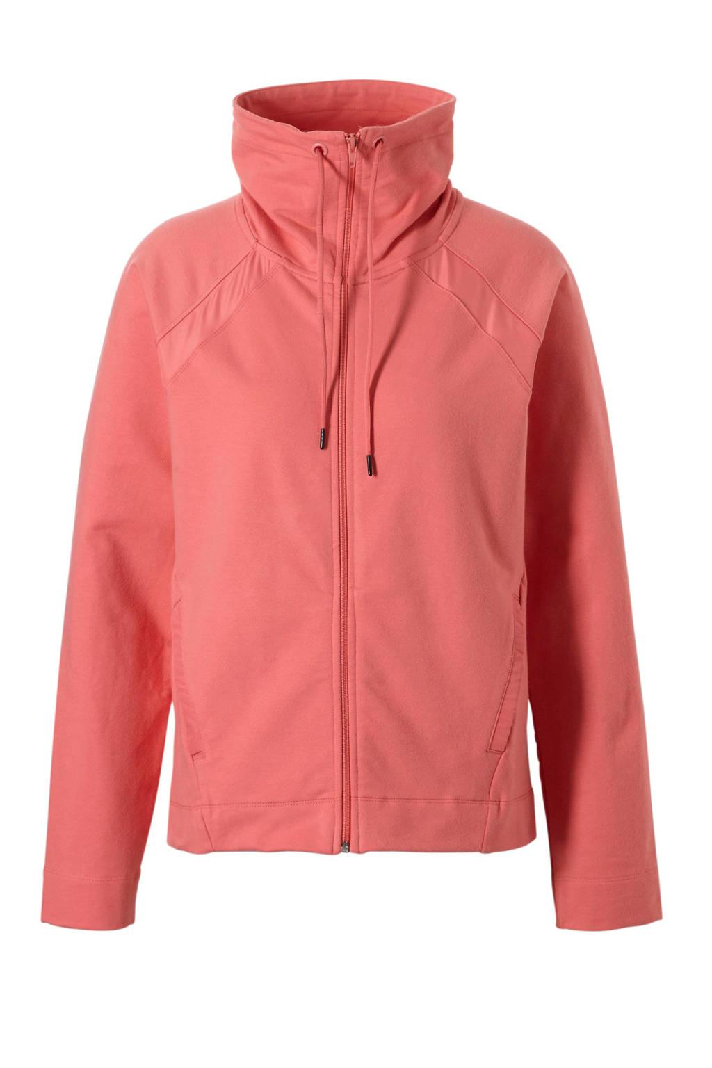 ESPRIT Women Sports sportvest roz, Roze