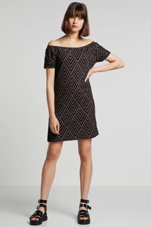 jersey jurk met recycled polyester (Waste2Wear)