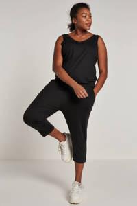 whkmp's beachwave jumpsuit zwart, Zwart
