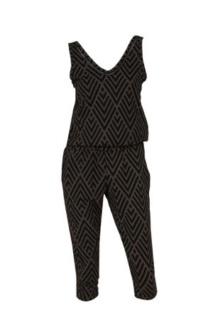 jersey jumpsuit met recycled polyester (Waste2Wear)