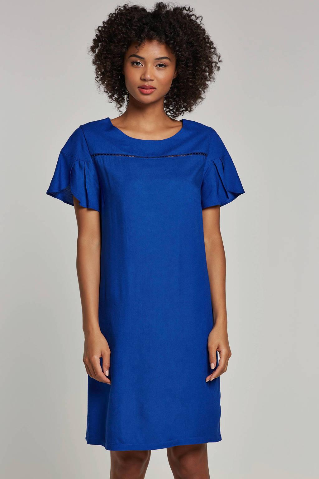 whkmp's beachwave jurk, Kobaltblauw
