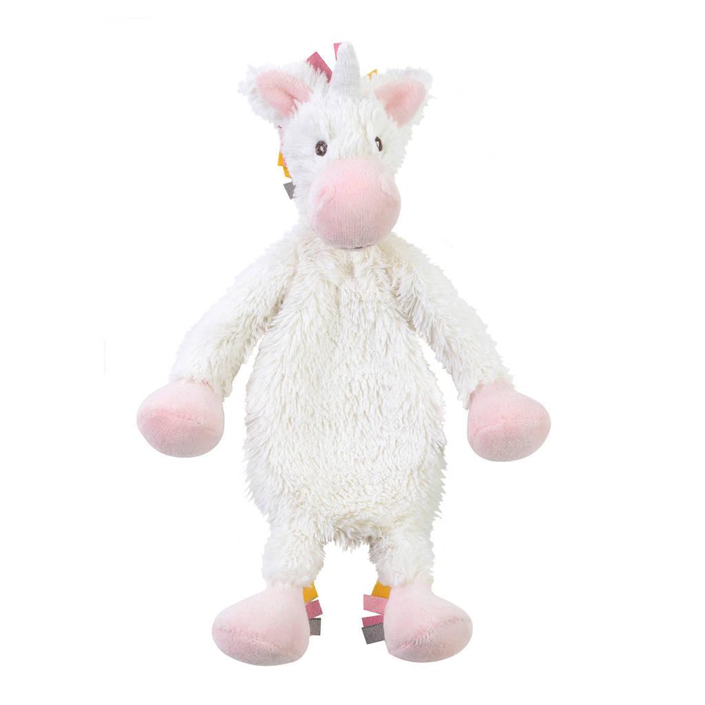 Happy Horse Unicorn Yara Tuttle knuffel 28 cm, Wit/roze