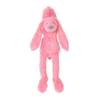 Deep Pink Rabbit Richie Musical knuffel 34 cm