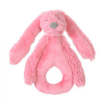 Happy Horse Deep Pink Rabbit Richie Rattle knuffel 18 cm