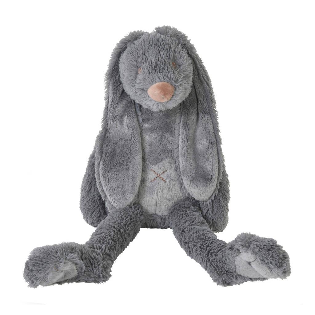 Happy Horse donkergrijze Rabbit Richie knuffel 38 cm
