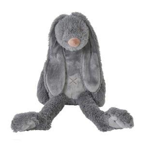 donkergrijze Rabbit Richie knuffel 38 cm