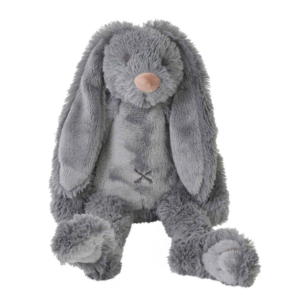 Happy Horse kleine donkergrijze Rabbit Richie knuffel 28 cm