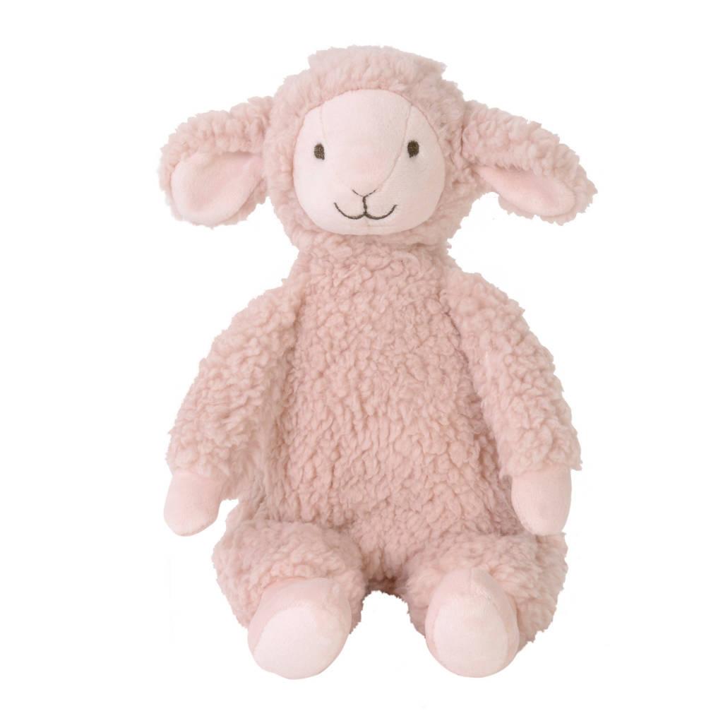 Happy Horse Lamb Lotus  knuffel 30 cm, Roze