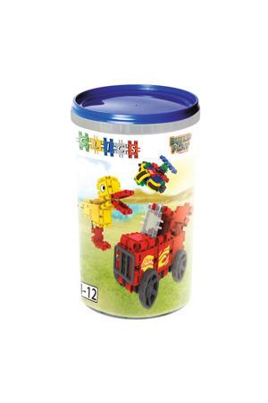 Build & Play tube 5-in-1 69 stuks