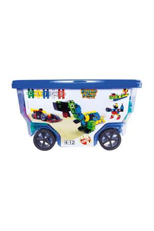 Build & Play rollerbox 15-in-1 377 stuks