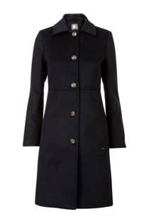 Promiss coat met wol marine (dames)