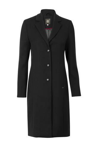 coat zwart (Waste2Wear)