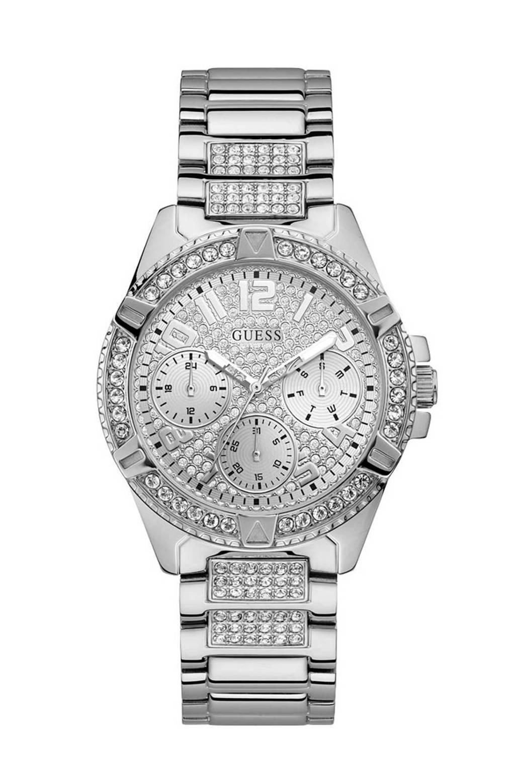 GUESS horloge - W1156L1, Zilverkleurig