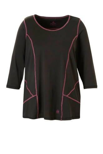 Sport sport t-shirt zwart