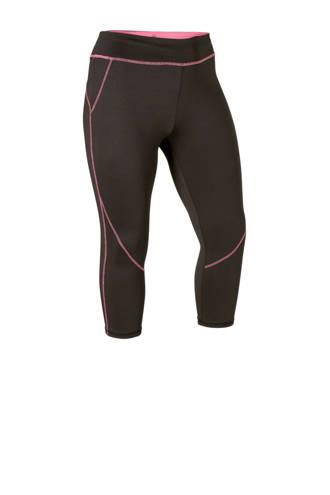 Sport capri sportbroek zwart