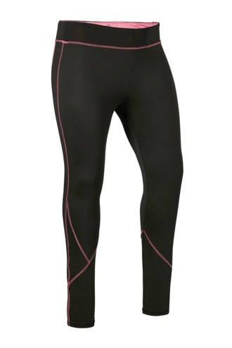 Sport sportbroek zwart/roze