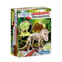 Clementoni  Archeospel Triceratops Fluor