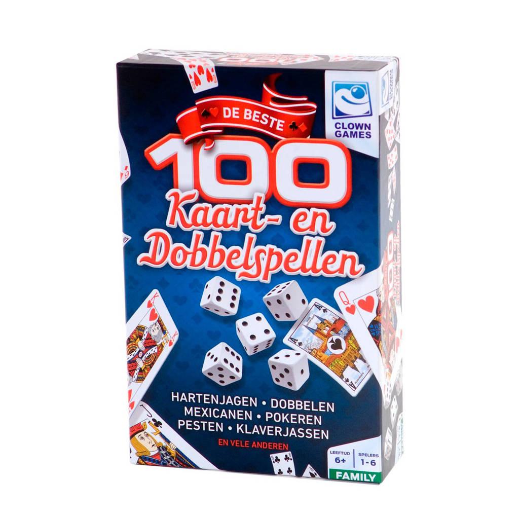 Clown Games 100 kaart- en dobbelspel