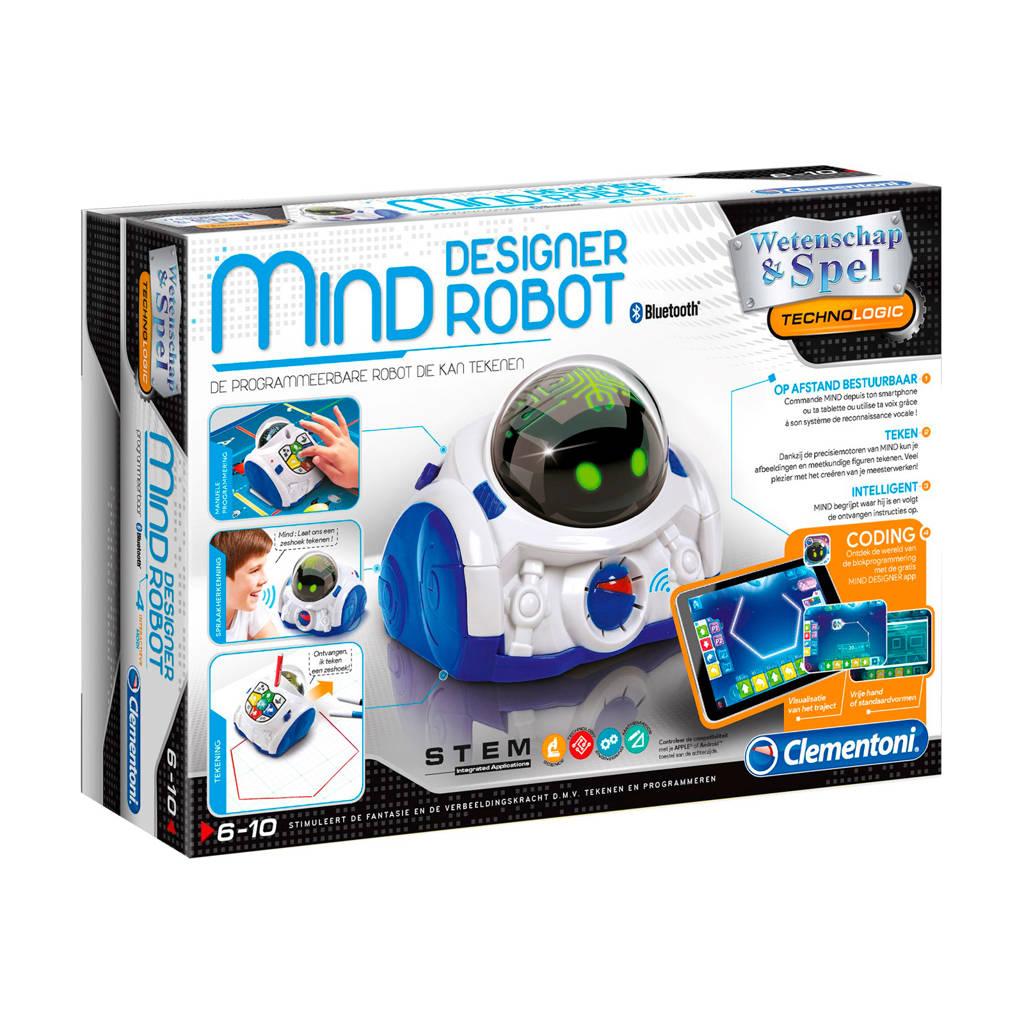 Clementoni  Coding Lab Robot Mind, Wit