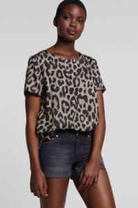 whkmp's beachwave jeans short, Stonewashed zwart