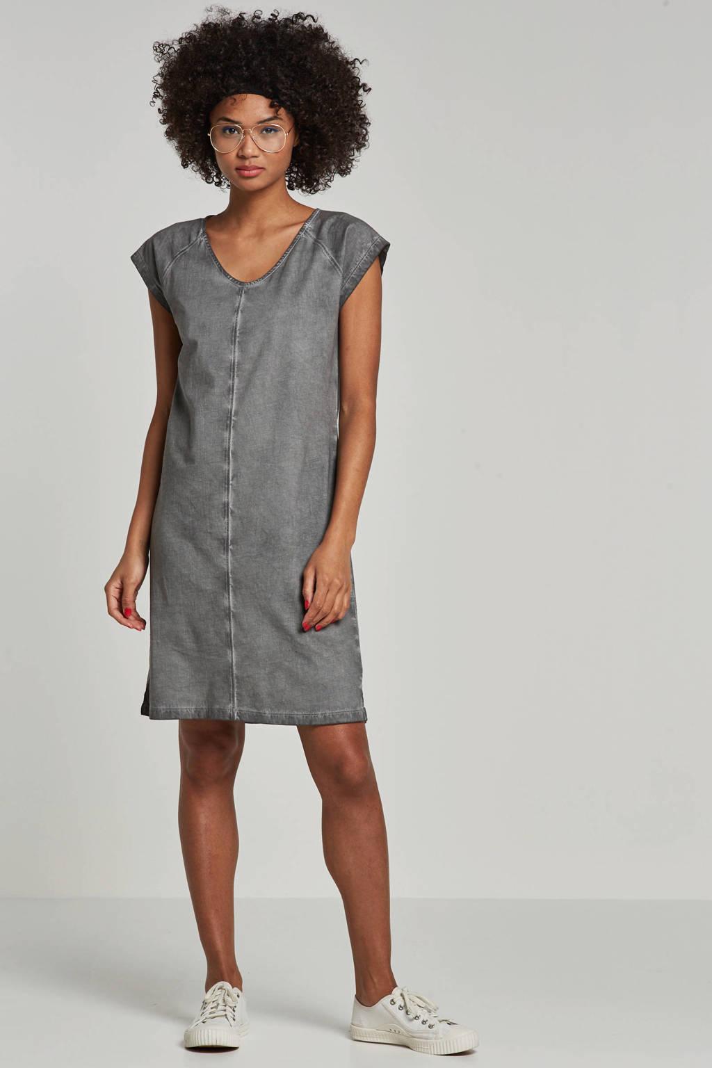 whkmp's beachwave jurk met vintage look, Donkergrijs