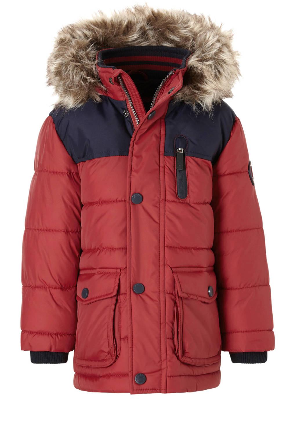 C&A Palomino winterjas  rood, Donkerrood