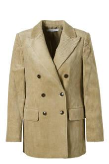 corduroy blazer beige