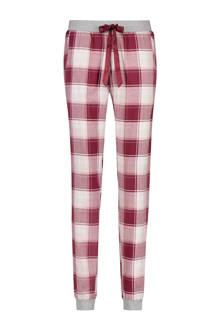 geruite pyjamabroek rood