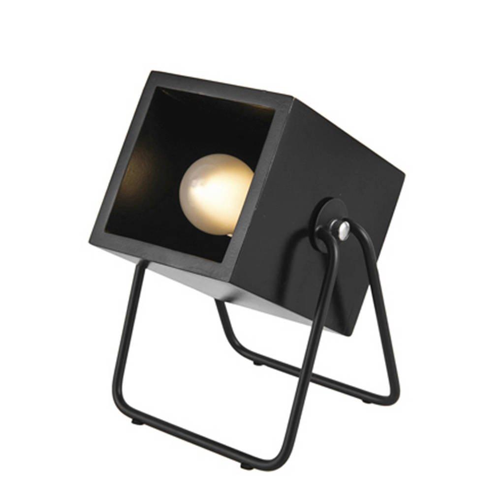 Leitmotiv tafellamp Hefty, Zwart