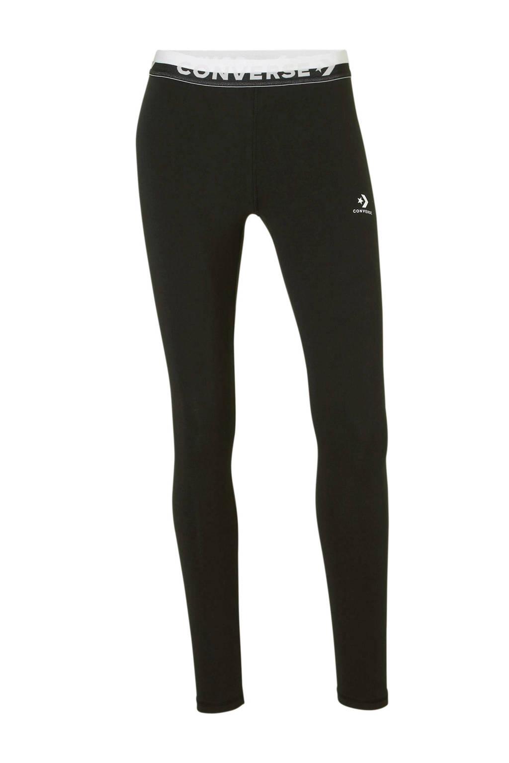 Converse 7/8 legging zwart, Zwart
