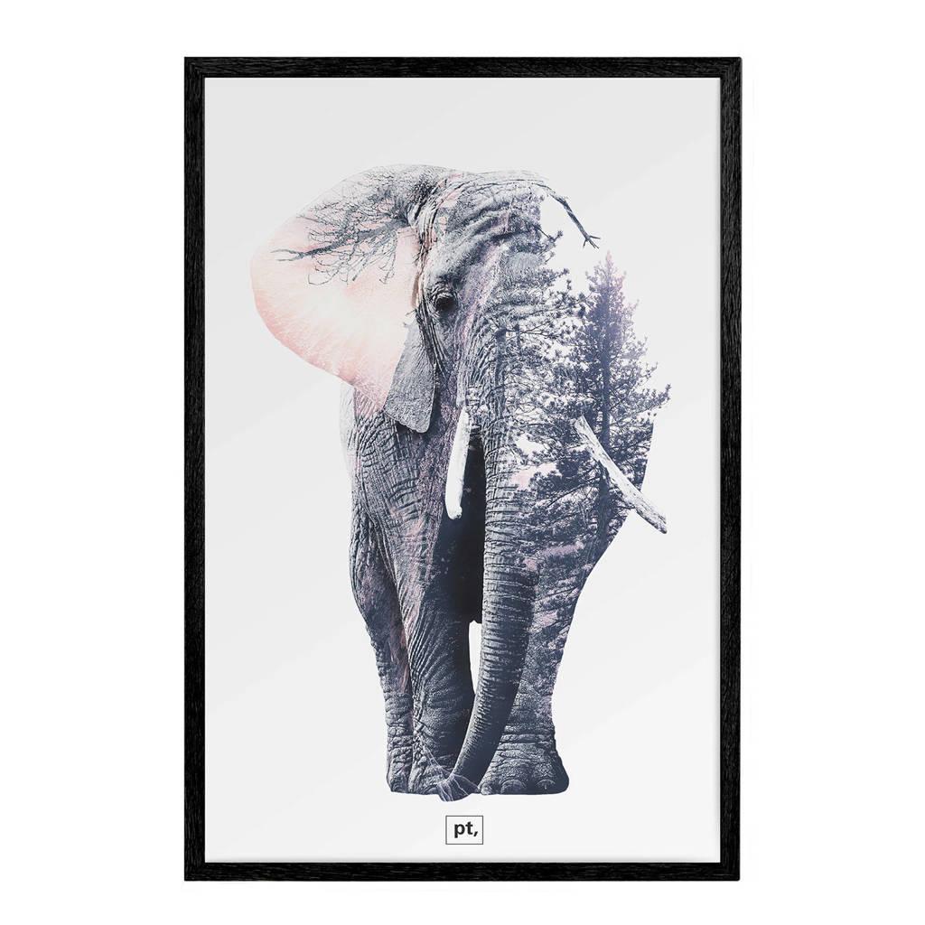 pt, fotolijst Ritzy (52x72 cm), Zwart