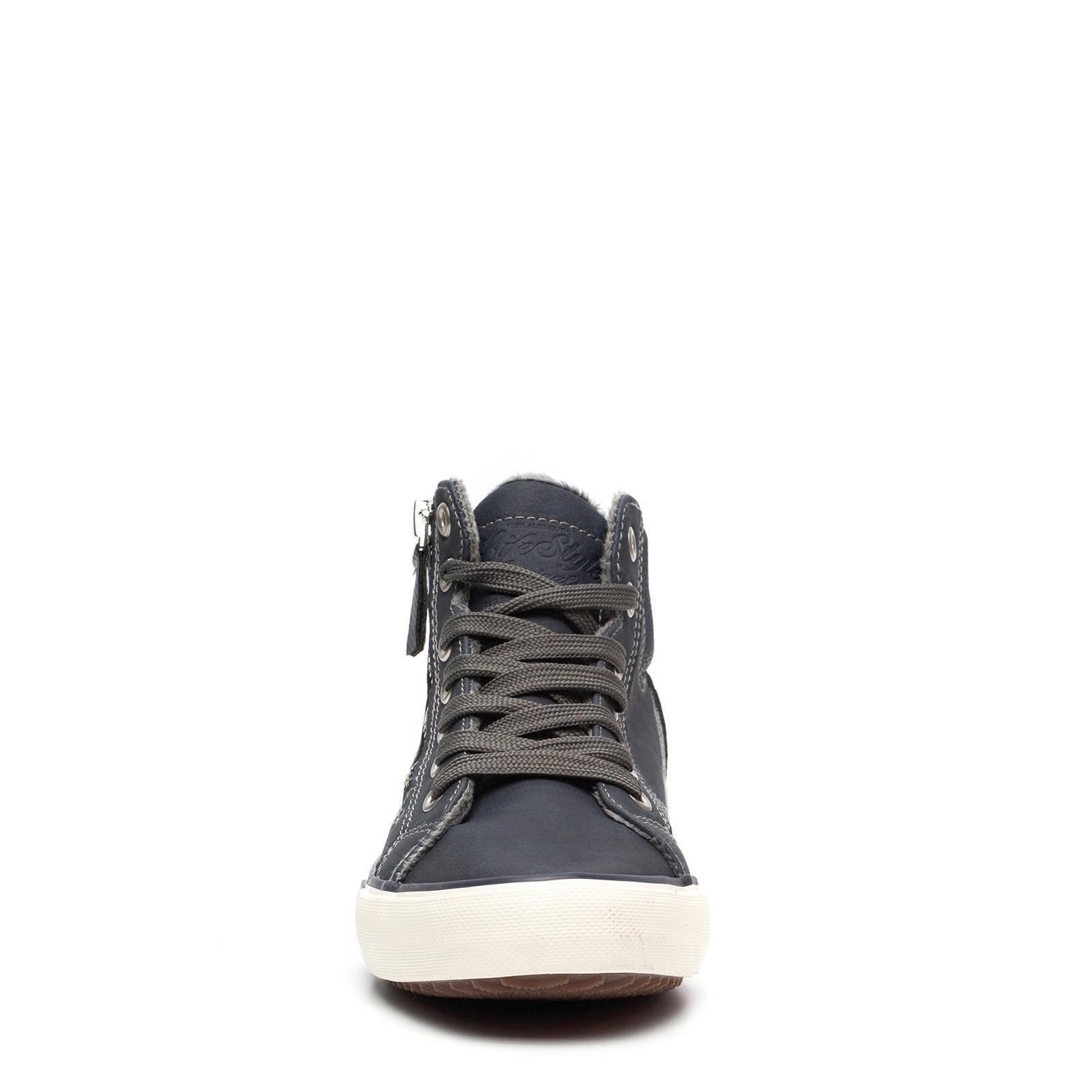 Scapino Blue Box sneakers donkerblauw   wehkamp