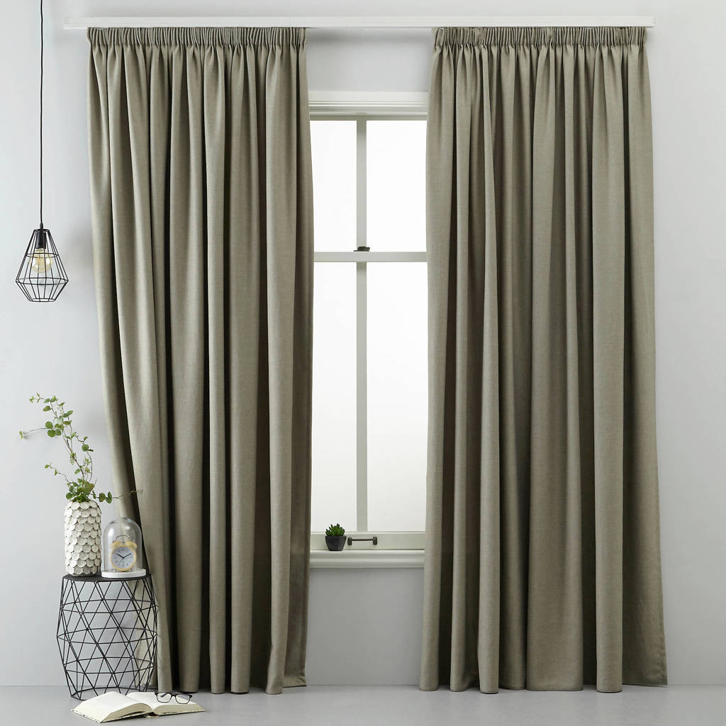 whkmp's own lichtdoorlatend gordijn (280 x 270 cm), Taupe